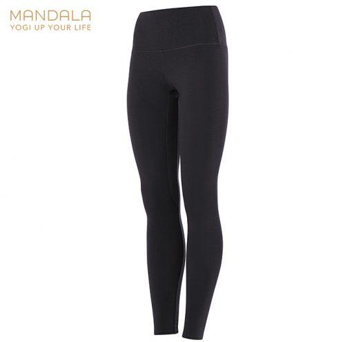 Mandala Fashion High Waist Basic Legging black