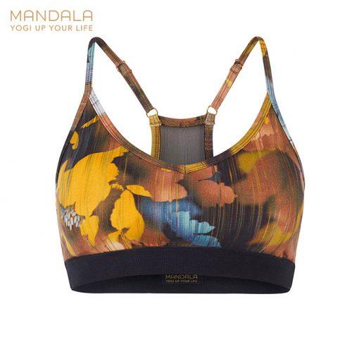 Mandala Fashion Mesh Bra Canadian Autumn