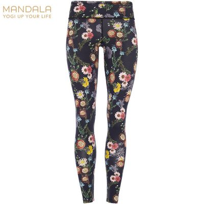 Mandala Fashion Tencel Printed Legging Mille Fleurs