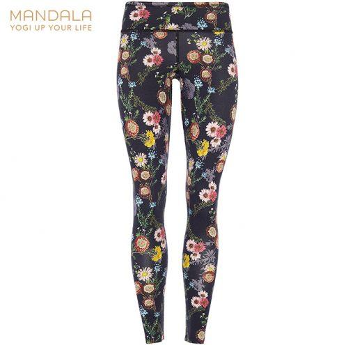 Mandala Fashion Tencel Printed Legging Mille Fleurs
