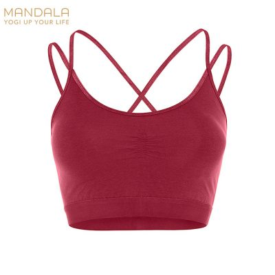 Mandala Fashion Slim Studio Bra - Kir Royal