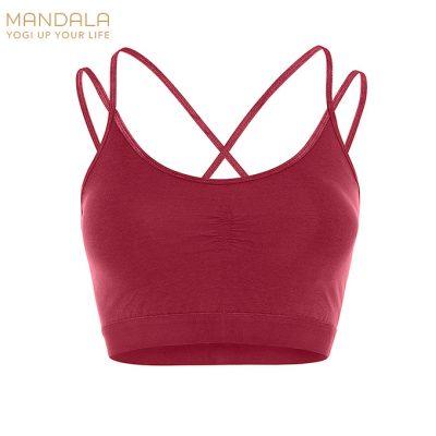 Mandala Fashion Slim Studio Bra - Kir Royal
