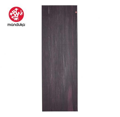 eKO Superlite Travel Yoga Mat Black Amethyst Marbled