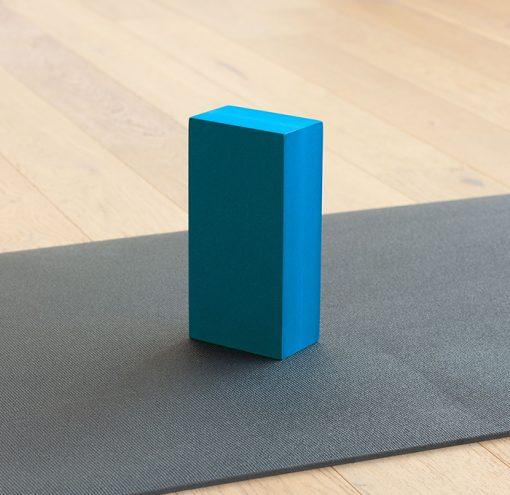 Asana Brick Block Klotz aus EVA Schaum Königsblau