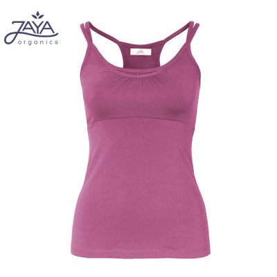 Jaya Fashion Yoga Shirt Jane Carmine