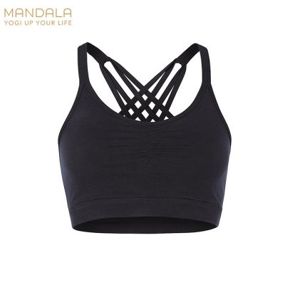 Mandala Fashion Infinity Bh Top schwarz