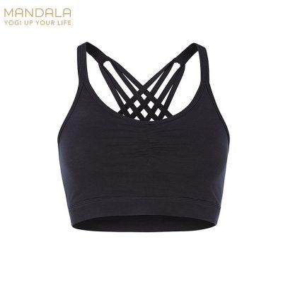 Mandala Fashion Infinity Bh Top schwarz