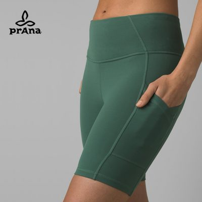 prAna Fashion Electa Yoga Short Peacock