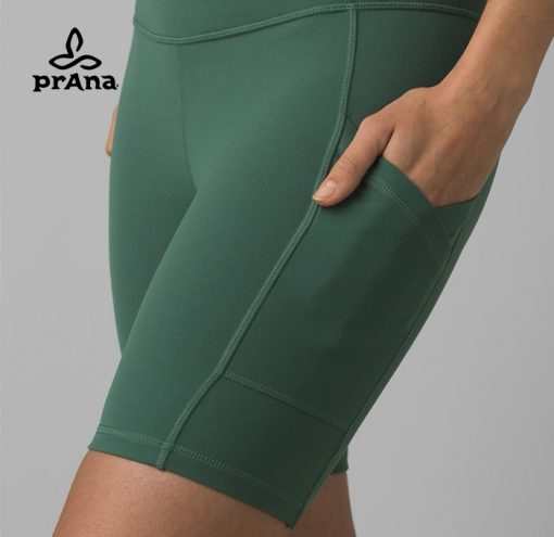 prAna Fashion Electa Yoga Short Peacock