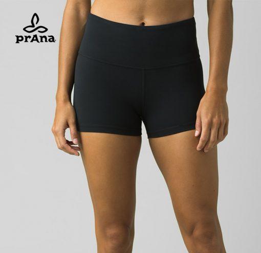 prAna Fashion Layna Yoga Short Black
