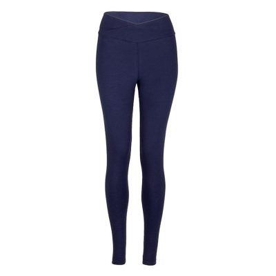 Yamadhi Cross Waist Basic Yoga Legging dunkelblau