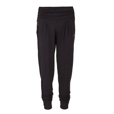 Yamadhi Damen Yogahose Loose Pants schwarz
