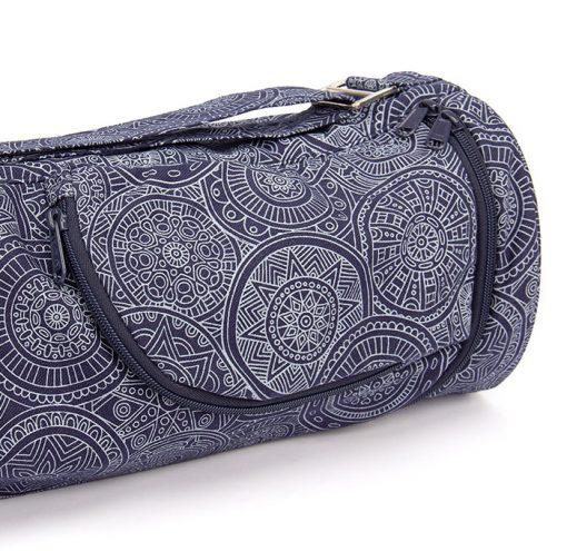 Asana Bag 60 70 cm Baumwolle Mandala Dunkelblau