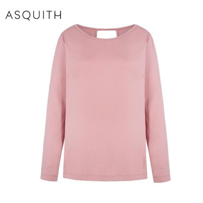 Asquith Fashion Open Back Tee Dusty Pink
