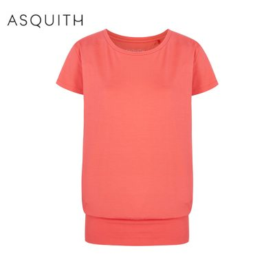 Asquith Fashion Smooth You Tee Coral
