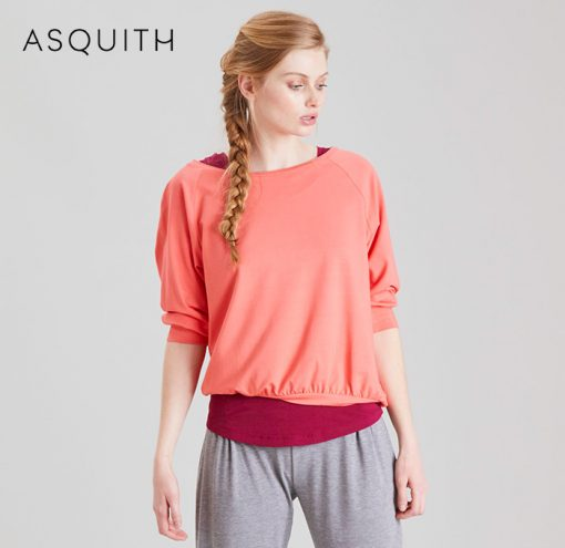 Asquith Fashion Embrace Tee Coral