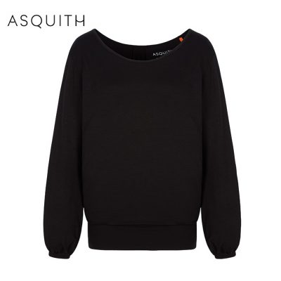 Asquith Fashion Long Smooth You Tee Black