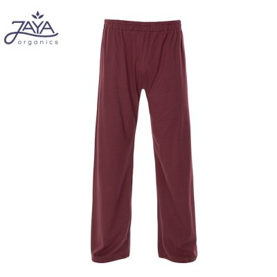 Jaya Fashion Carlos Men Pants Burgundy
