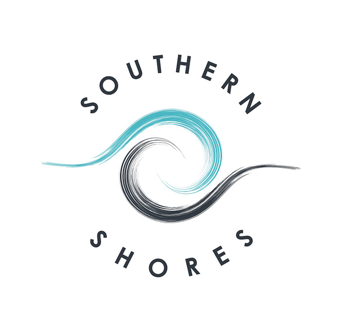 Southern Shores The Ocean Mat Logo