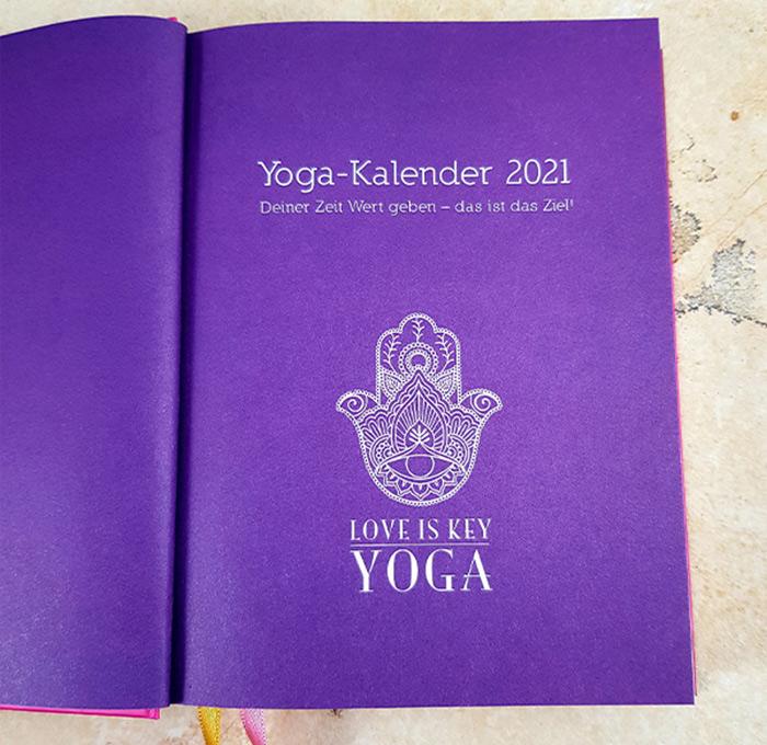 Yoga Kalender 2021 - Mantra OM - LITTLE YOGA STORE