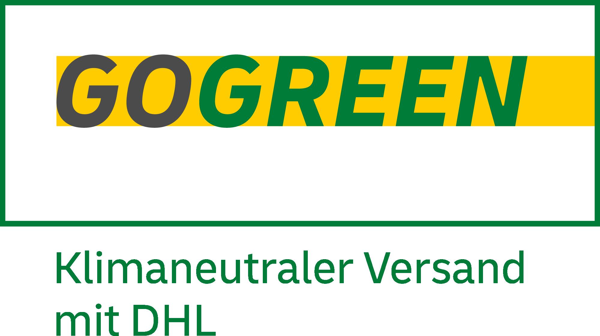 DHL GoGreen Versand