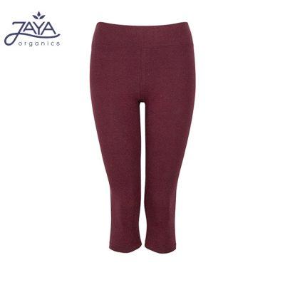 Jaya Fashion Gita 3/4 Leggings Burgundy