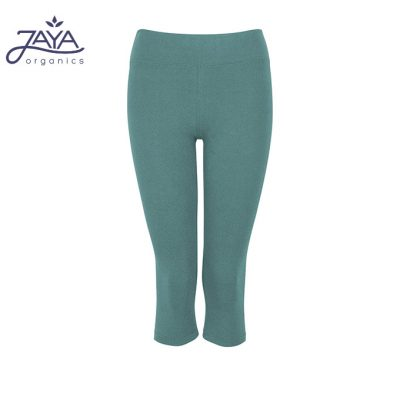 Jaya Fashion Gita 3/4 Leggings Pinegreen