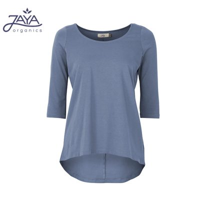 Jaya Fashion Leni 3/4 Shirt Bluegrey