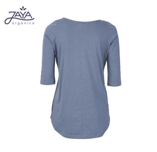Jaya Fashion Leni 3/4 Shirt Bluegrey