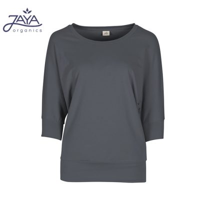 Jaya Fashion Shirley 3/4 Shirt Charcoal