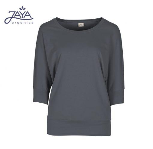 Jaya Fashion Shirley 3/4 Shirt Charcoal