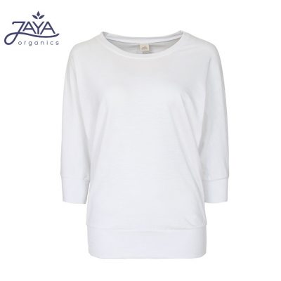 Jaya Fashion Shirley 3/4 Shirt White