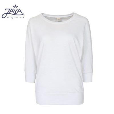Jaya Fashion Shirley 3/4 Shirt White