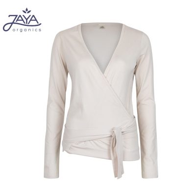 Jaya Fashion Yael Wrap Wickeljacke Creme