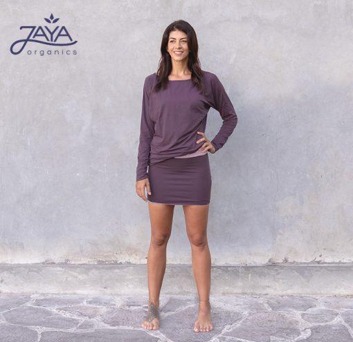 Jaya Fashion Yanti Longsleeve Plum