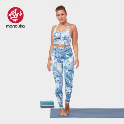 Manduka®Aurora Legging Be bold blue