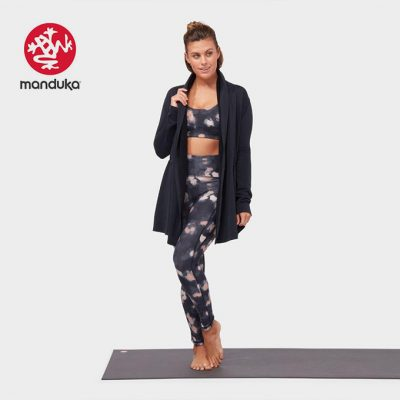 Manduka Yoga meditation cardigan Black