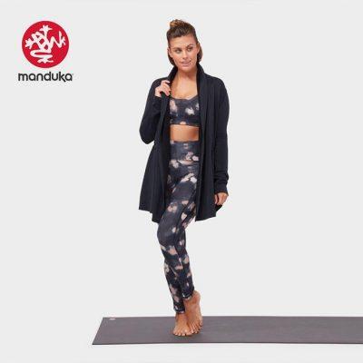 Manduka Yoga meditation cardigan Black