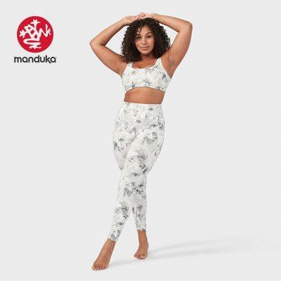 Manduka®presence legging tropics grey