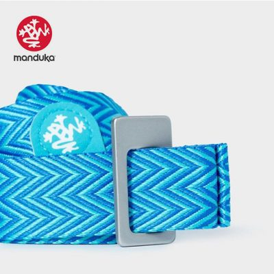 Manduka® Go Move Mat Carrier Pacific Blue