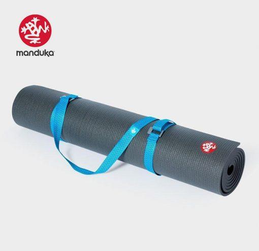 Manduka®Go Move Mat Carrier Pacific Blue