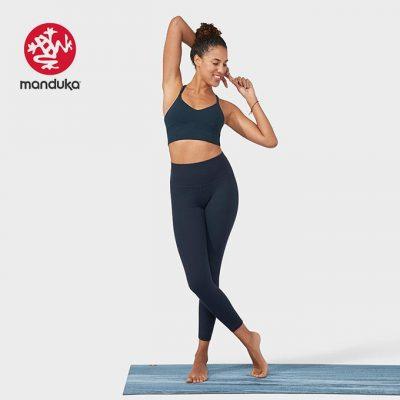 Manduka essence Yoga Leggings dark sapphire