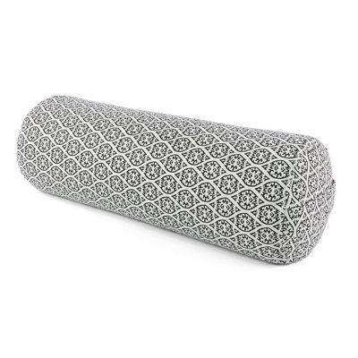 Yoga Bolster Rund Restorative Bio Block Print Edition