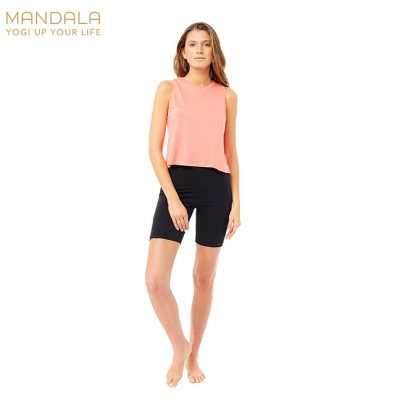 Mandala Fashion Biker Shorts Black