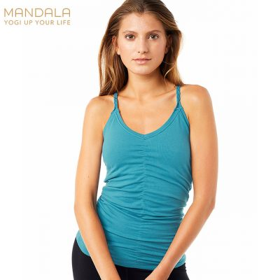 Mandala Fashion Cable Yoga Top Bolshoi Green
