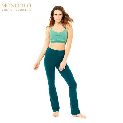 Mandala Fashion Classic Rolldown Yoga Pants Jungle