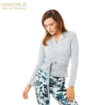 Mandala Fashion Easy Wrap 2021 Grey