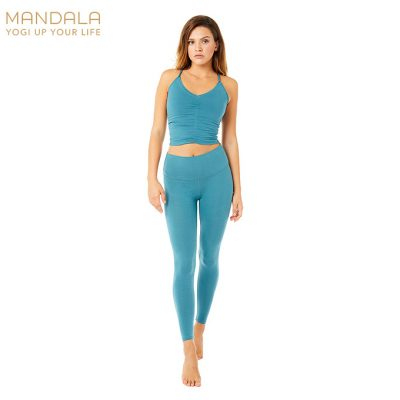 Mandala Fashion High Rise Basic Legging Bolshoi Green