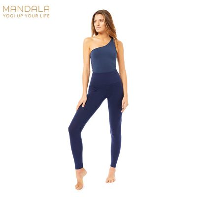 Mandala Fashion High Rise Basic Legging Marine