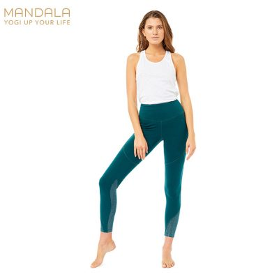 Mandala Fashion High Waist Glamour Legging Jungle